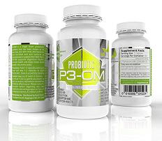 p3 om probiotic supplement