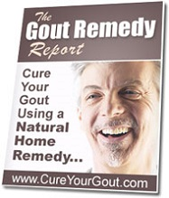 the gout remedy report
