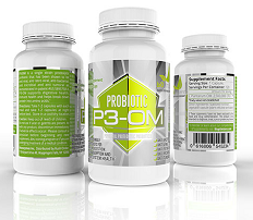 p3 om probiotic supplement