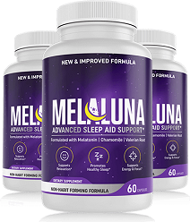 Melaluna Advanced Sleep Aid Support